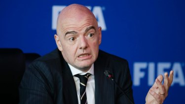 FIFA president Gianni Infantino said he had tried to do his work honestly.