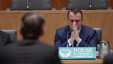 Liberal MP Tim Wilson, chair of the House Economics Committee.