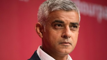 London mayor Sadiq Khan is backing the push for a second referendum on Brexit.