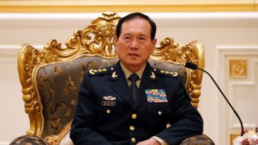 China's Defence Minister Lieutenant General Wei Fenghe.