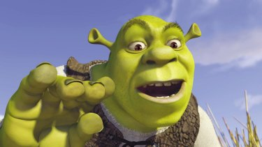 Dreamworks movie <i>Shrek</i> grossed $480 million worldwide and won the first  Oscar for Best Animated Feature.