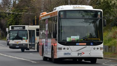Melbourne's roads won't be rid of replacement buses any time soon.
