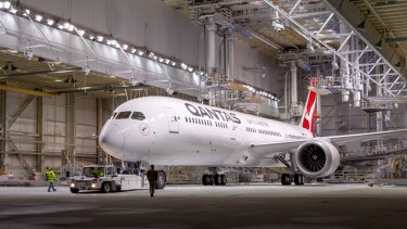 Qantas operated its first flight powered by a meaningful amount of biofuel last year, using a 787-9 (pictured) and is trying to establish a dedicated bioful crop in Australia.