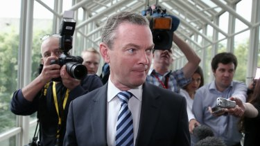 Defence Minister Christopher Pyne has been in Parliament for 26 years.