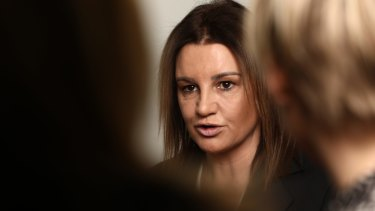 Senator Jacqui Lambie said money would not be enough given her concerns.