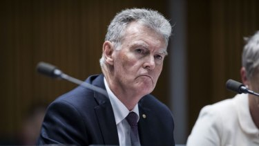 Director General of ASIO Duncan Lewis.