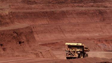 Cyclone Veronica affected Rio Tinto's iron ore shipments.