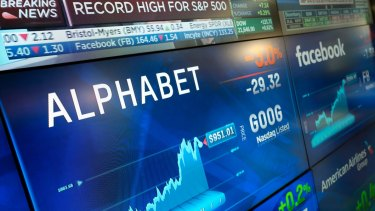 Alphabet shares have jumped 50 per cent since Pichai took the top job at Google.