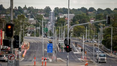 Level crossings have been removed from many Melbourne streets, starting with Bourke Road in Glen Iris.
