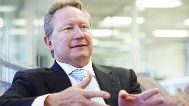 A big dividend splash is good news for Andrew Forrest.