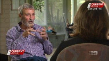 Don Burke speaks with Tracy Grimshaw on the A Current Affair program where he made the claims that were the subject of this case.