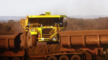 Money for the pledge was meant to come from the Sino iron ore project in WA's Pilbara region.