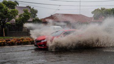 Many motorists ignored warnings from police and continued to drive through floods.