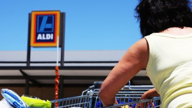 Aldi had sales of $9.2 billion last year, meaning it had a 10 per cent stake of the Australian grocery market.