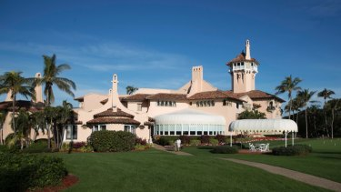 The new property is close to Trump's Mar-a-Lago resort (pictured) in Palm Beach, Florida.