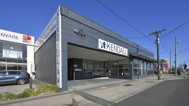 The site of the family run Kendall furniture storeis up for sale.