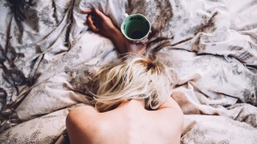 Taking a bra off, drinking coffee, sliding into bed when you're overly tired. There are alternatives.