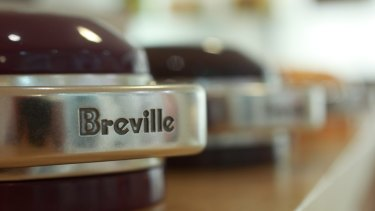 Breville Group has lifted prices to deal with tariffs.