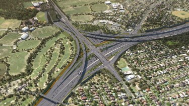 Victoria's biggest-ever road project, the North East Link.