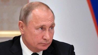 Former Soviet spy, now Russian President Vladimir Putin.