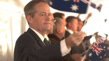 Bill Shorten Australia Day 2016.