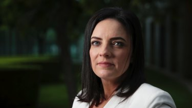 """""""I have lots of friends around this building"""": Labor MP Emma Husar."""