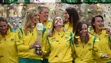 Shine on you crazy Diamonds: Australia could be out to replicate their 2015 home World Cup success in 2027 should a NSW bid win hosting rights.
