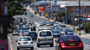 There is now no definite dates for plans to reduce traffic on Parramatta Road and increase its public transport carrying capacity.