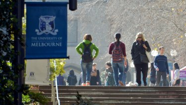Universities across Victoria do not pay rates.