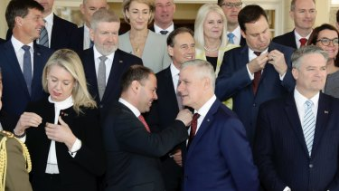 The latest published polls show the federal Coalition's standing against Labor at a dismal 44-56 per cent.