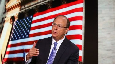 BlackRock chief Larry Fink says there is 'huge excitement' in fixed income.