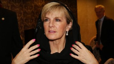 Julie Bishop offers to help with Iranian negotiations to free detained Australians