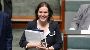 Minister for Small Business, Women and Assistant Treasurer Kelly O'Dwyer.