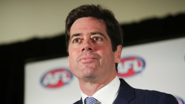 He's hiring: AFL CEO Gillon McLachlan, who is recruiting a new government relations boss for the AFL.