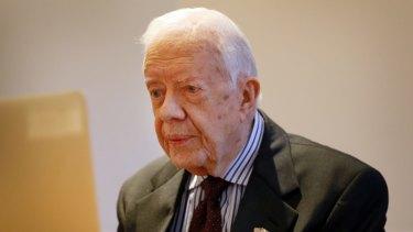 US President Jimmy Carter.