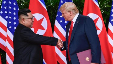 The historic meeting between Donald Trump and Kim Jong-un made headlines around the world - but interestingly didn't crack the Brisbane Times 2018 top 20.