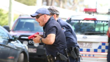 Queensland Police Service has been training in taking out active armed offenders.