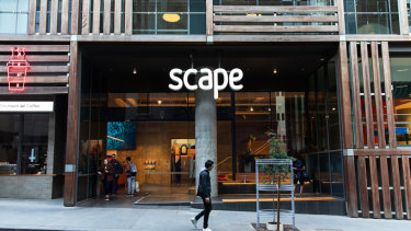 A record $1.46 billion has been invested in student accommodation such as Scape this year.