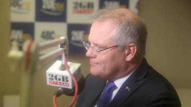 Scott Morrison attacked electric cars on 2GB.