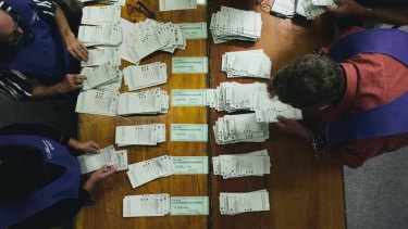 A record 4.7 million voters lodged their ballot in the pre-poll period leading up to the May 18 election.