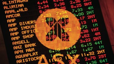 Australian shares surged on the back of a record lift in Wall Street.