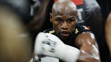 Floyd Mayweather was fined $US600,000.