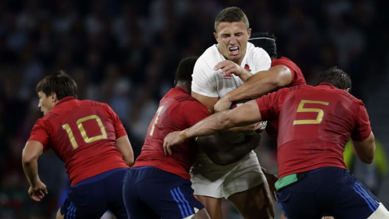 Smashed: England's 2015 Rugby World Cup campaign was unforgettable for all the wrong reasons.