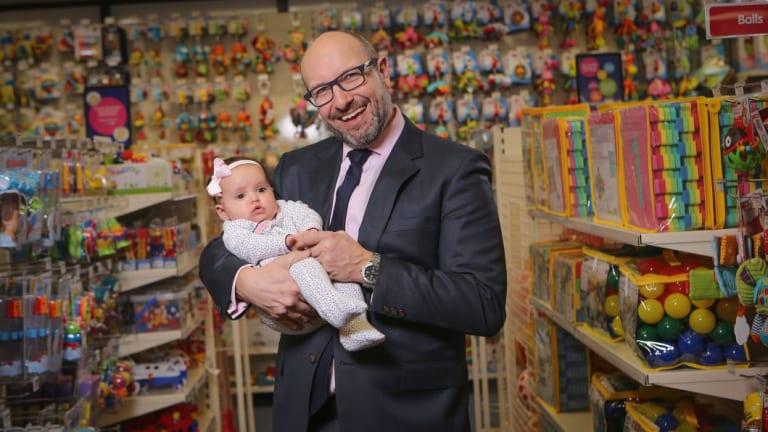 Baby Bunting CEO Matt Spencer.