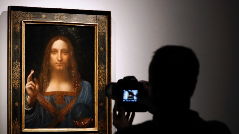 """Among the transactions that Sotheby's was involved in, according to the new lawsuit, was a deal for Leonardo da Vinci's """"Salvator Mundi"""", bought for $US118 million in 2013."""