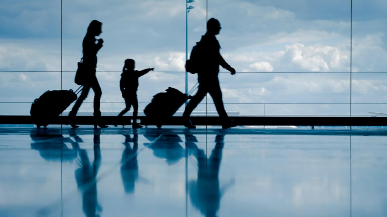 The financial mark-up for travel destinations in school holidays is huge.