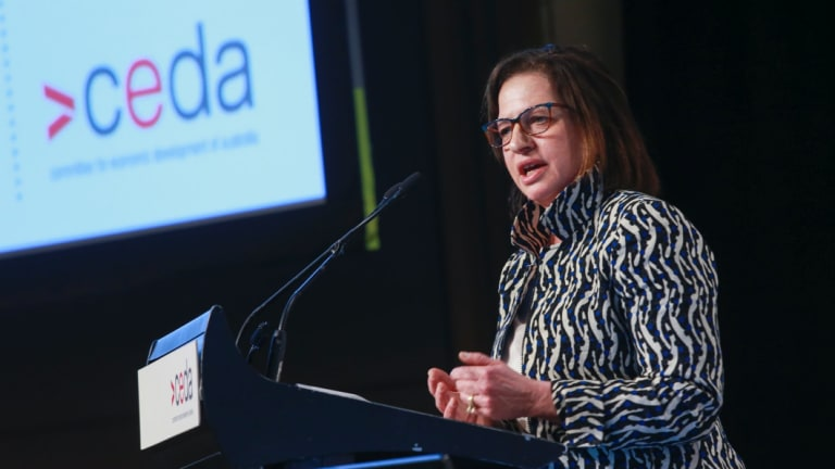 AEMO boss Audrey Zibelman says Australia needs to change its way of thinking to manage its energy transition.