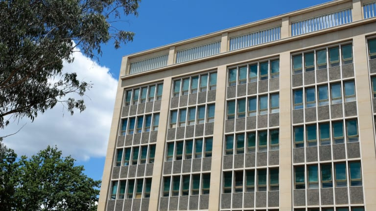 Canberra's Anzac Park East Building.