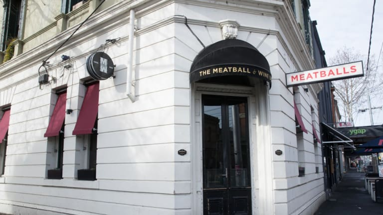 The Meatball and Wine Bar in Richmond.