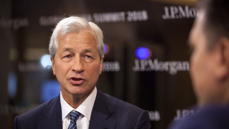 JPMorgan Chase CEO Jamie Dimon doesn't expect the next recession to be as bad as the previous one.
